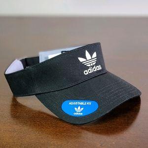 Adidas Originals Adjustable Visor Hat Cap Black